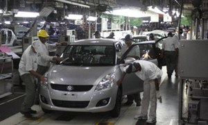 Honda shutdowns rise, Suzuki output stable