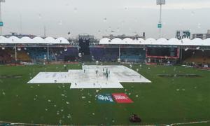 First ODI between Pakistan, Sri Lanka called off after heavy rain