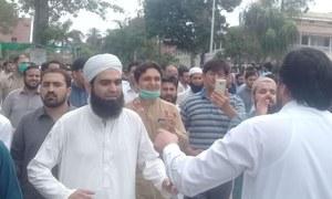 پشاور میں ڈاکٹروں کا احتجاج، پولیس کی کارروائی، متعدد افراد زخمی