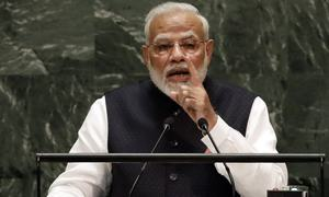 Terror is a challenge faced by the entire world, says Modi in UN speech
