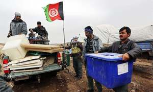 Taliban worries loom as Afghanistan prepares to vote for a president
