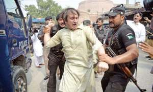 پشاور: او پی ڈیز کے بائیکاٹ میں توسیع، 26 ڈاکٹروں کے خلاف مقدمہ درج