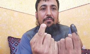 The Taliban cut off his finger for voting, he defied them again