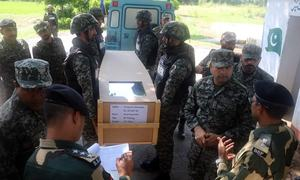 Pakistan hands over body of Indian BSF soldier who drowned while crossing nullah: ISPR