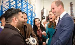 In first official visit, British royal couple 'look forward to build a lasting friendship' with Pakistan