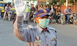Traffic police get Rs68m as share in fine amount