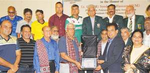 POA chief Arif Hasan felicitated for his election in CW Games committee