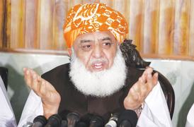 Fazl asks state institutions to stop backing govt