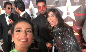I went to the Hum Awards and became besties with all the celebs