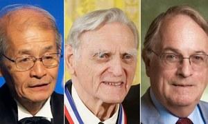 کیمسٹری کا نوبیل انعام بھی تین سائنسدانوں کے نام