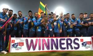 پنک ڈے پر سری لنکا کا وائٹ واش