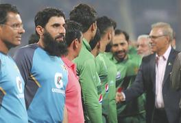Shocking T20 series whitewash perturbs Misbah