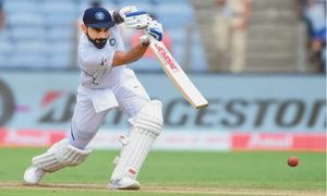 Bradmanesque Kohli puts India on top in Pune Test