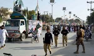 Kashmir rallies held across Balochistan