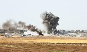 Turkish troops enter Syrian border town