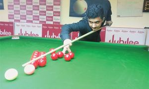 Asif, Zulfiqar and Babar stunned in ranking snooker