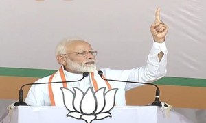 Modi dares India's opposition to 'bring back Article 370' in occupied Kashmir