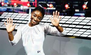 Majestic Biles sets record of 24 world gymnastics medals
