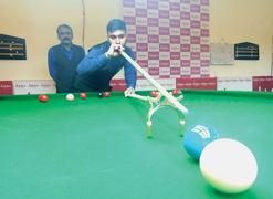 Zulfiqar dealt another blow in ranking snooker