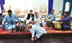 Artist for preserving traditional musical instruments