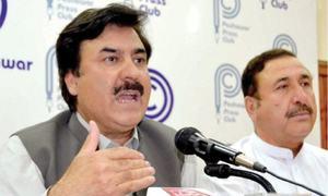 KP govt warns baton-wielding JUI-F workers of action