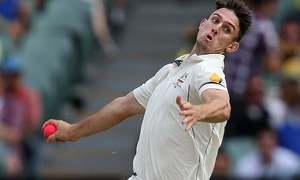 Australia's Mitch Marsh injures bowling hand punching wall
