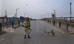 مقبوضہ کشمیر میں 72 روز بعد موبائل پوسٹ پیڈ سروس بحال، انٹرنیٹ تاحال بند