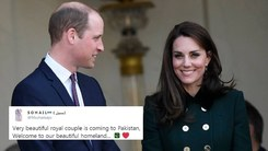 Prince William and Kate Middleton land in Pakistan today and excitement is in the air