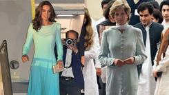 Is Kate Middleton paying homage to Princess Diana with her Royal Visit outfit choices?