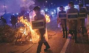 Secret network using social media to stir agitation in Catalonia