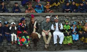 Prince William and Kate mingle with Kalasha community, experience local culture