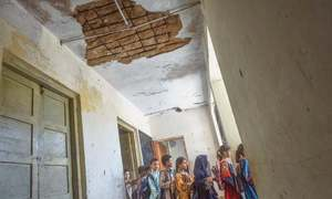 Future of girl students uncertain in Siraj Ahmed Goth