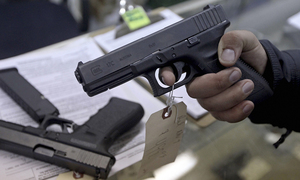 Capital admin bans issuance of arms licences