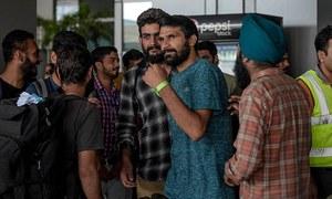 امریکا جانے کے خواہشمند 311 بھارتی میکسیکو سے بےدخل