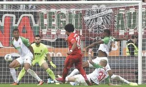 Bayern denied again as Augsburg draw