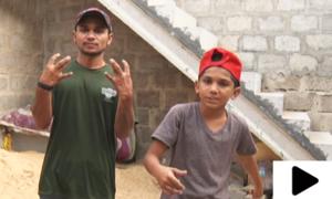 کراچی کے 8 سالہ ریپر کے دنیا بھر میں چرچے