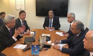 امریکی کمپنیوں کو پاکستان میں سرمایہ کاری کے مواقع کا فائدہ اٹھانا چاہیے، مشیر خزانہ