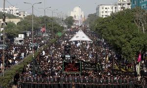 ملک بھر میں چہلم امام حسینؓ عقیدت و احترام سے منایا گیا