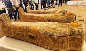 مصر میں 100 برس بعد مزید 30 تابوت دریافت