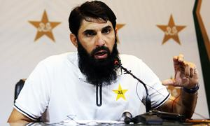 Misbah names young pace bowlers for T20, Test series against Australia