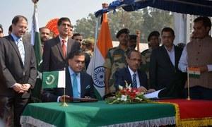 Pakistan, India sign agreement on Kartarpur Corridor