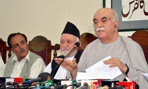 Achakzai supports JUI-F march