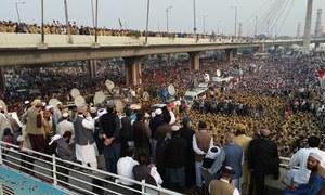 آزادی مارچ کے پیش نظر اسلام آباد میں فوج طلب
