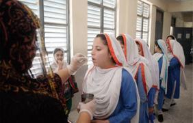 Deworming drive gets poor response in Haripur
