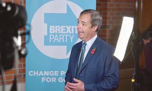 Eurosceptic Farage pitches election alliance to Johnson