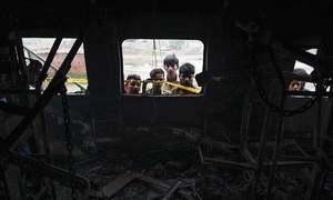 سانحہ تیز گام: غفلت برتنے پر ریلوے کے 6 افسران معطل، ایک کا تبادلہ