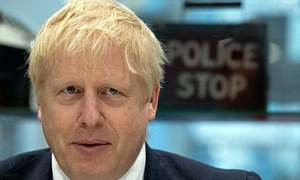 Cabinet resignation hits Johnson as UK election drive kicks off