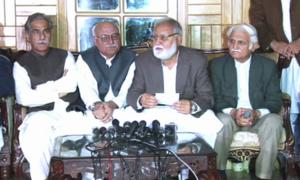 اپوزیشن کی رہبر کمیٹی کا اجلاس، حکومت پر دباؤ بڑھانے کا فیصلہ