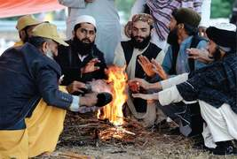 JUI-F's sit-in venue becomes tent city