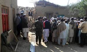 Two women hurt as rocket hits ANP leader's house in Khar